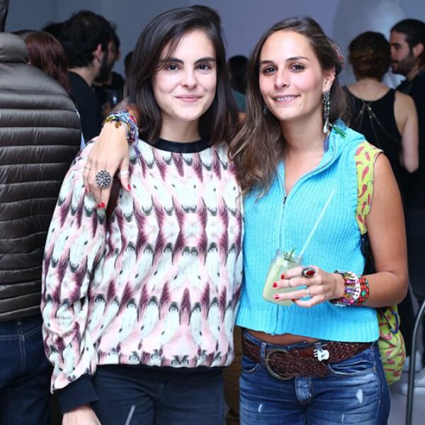 Anastasia Sánchez y Romina Jiménez