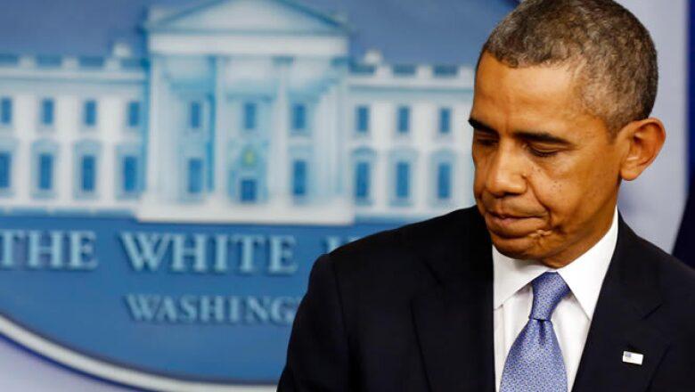 El presidente Barack Obama acusó a los republicanos de estar demasiado comprometidos con los conservadores del Tea Party en la Cámara de Representantes.