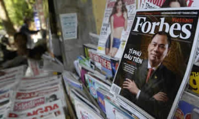 El negocio de Forbes en Asia seguirá siendo dirigido desde Singapur por Will Adamopoulos. (Foto: AFP)