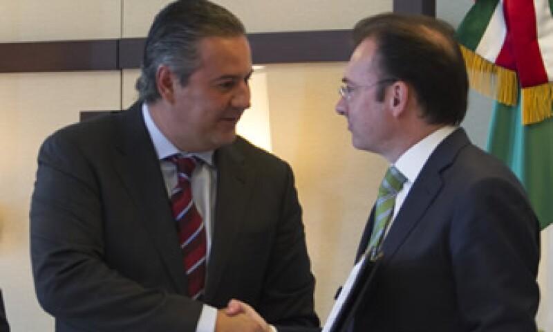 El secretario de Hacienda Luis Videgaray ha dicho que los nuevos impuestos han afectado a la demanda agregada. (Foto: Cuartoscuro)