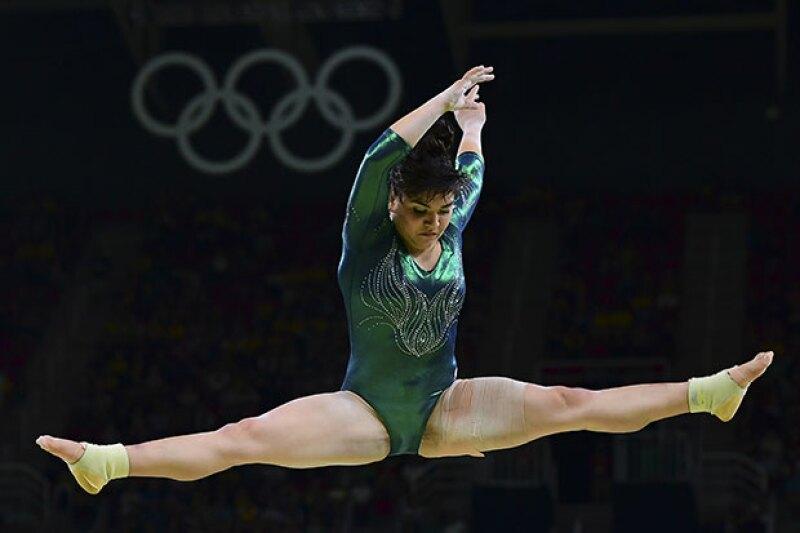 Alexa Moreno en Río 2016.