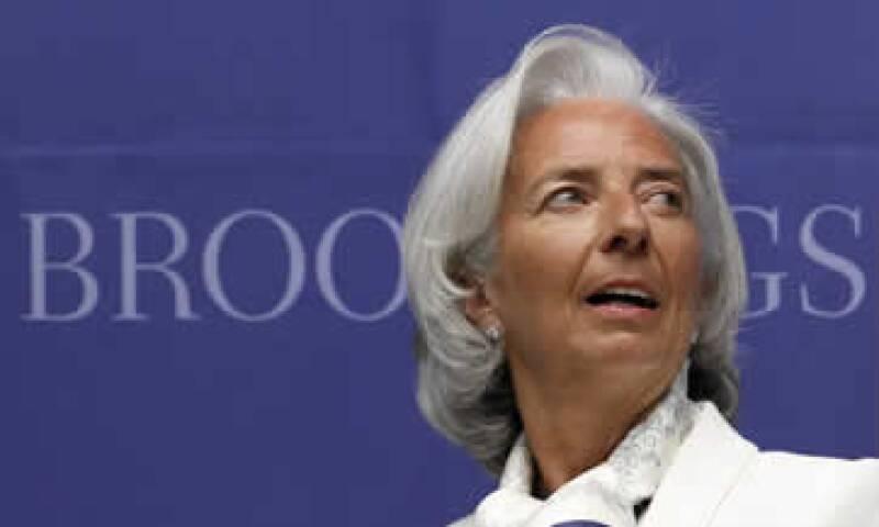 Los datos oficiales del organismo dirigido por Lagarde se publicarán en los próximos días. (Foto: AP)