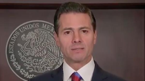 """""""Busqué avanzar sin dividir"""", dice Peña Nieto en su mensaje de despedida"""