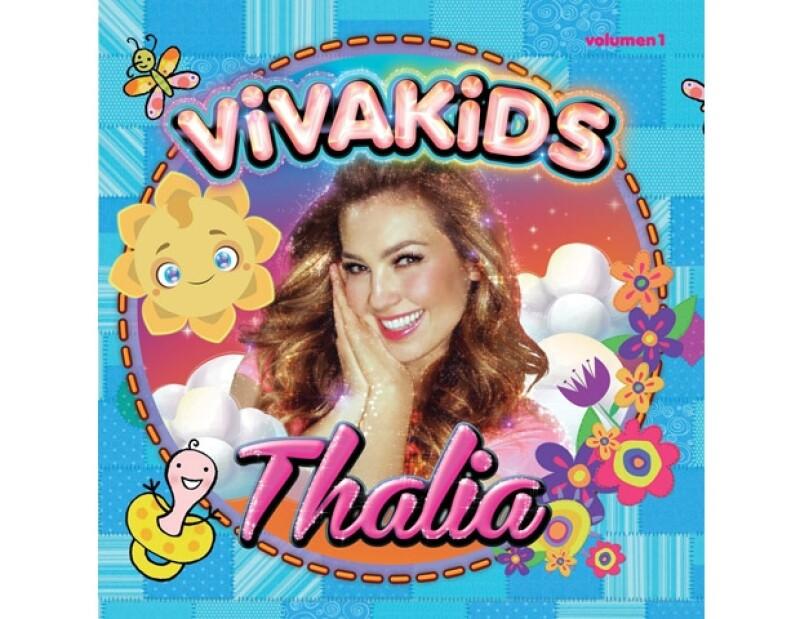 """Thalía promociona en México su disco infantil """"Viva Kids""""."""