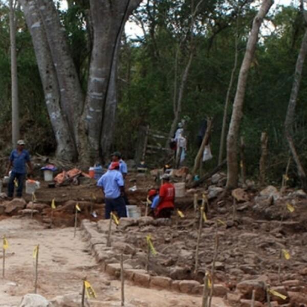 entierros hallados en Xtojil