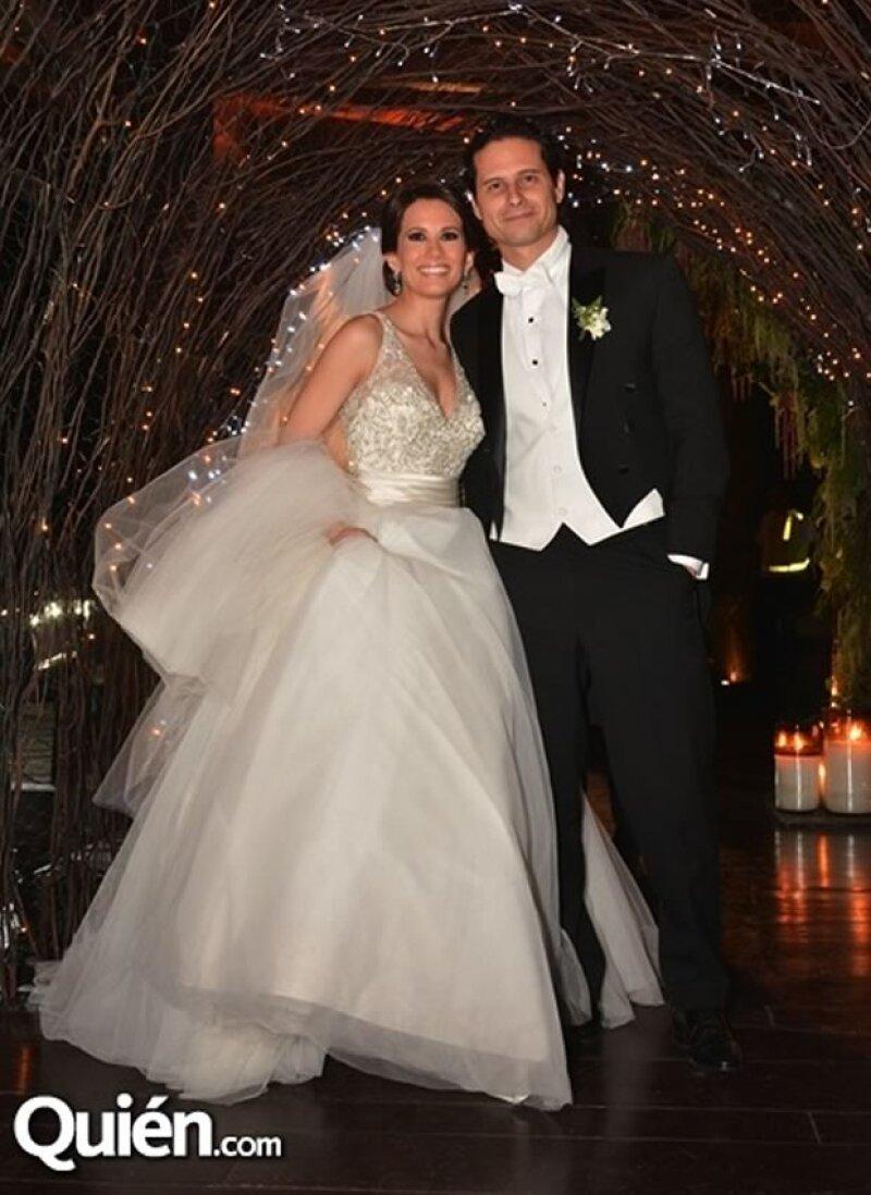 Gabriela Estrada y Carlos Gudiño