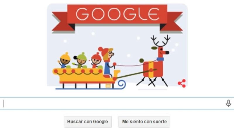 Google Doodle Navideño