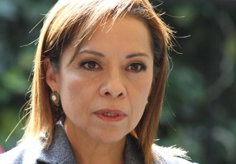 Josefina Vázquez Mota aclaró que no se durmió durante la entrevista, sino que estaba cansanda.