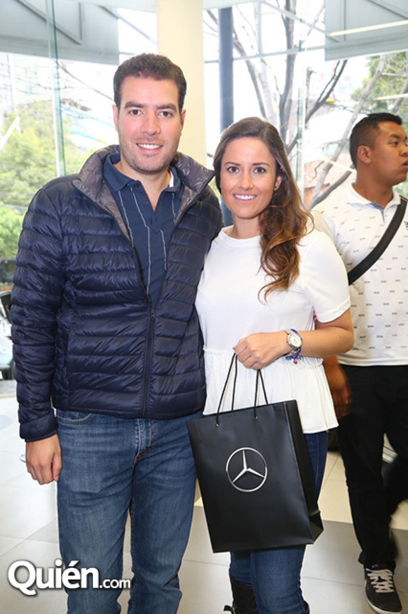 Álvaro García y Fernanda Loera