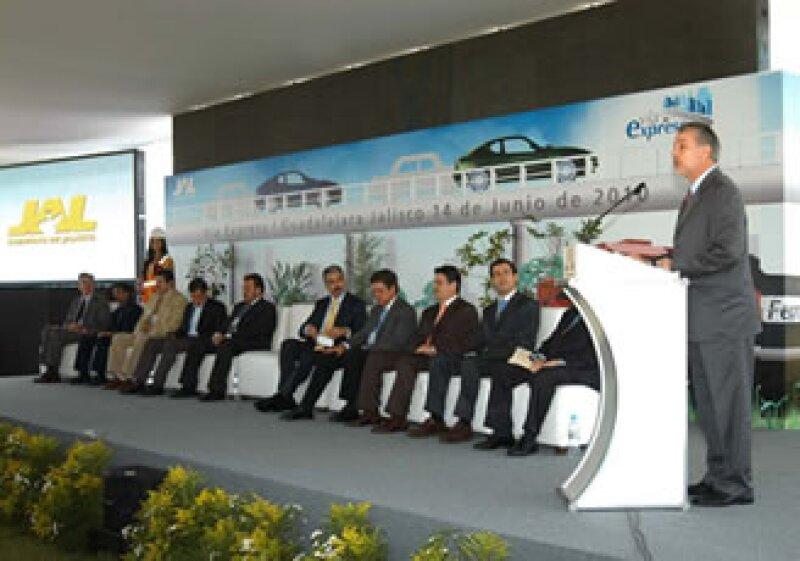 La Vía Express forma parte del Plan de Movilidad Urbana y pasará por los municipios de Zapopan, Guadalajara y Tlaquepaque. (Foto: Cortesía Gobierno de Jalisco)