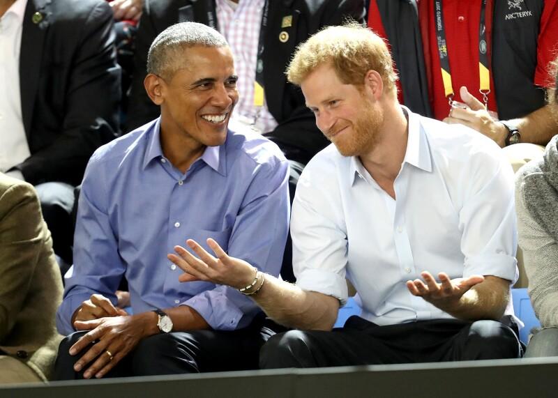 Barack Obama, príncipe Harry