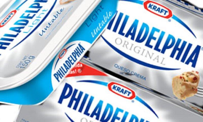 Philadelphia se encuentra dentro del grupo de marcas de Kraft que registra ventas por más de 1,000 mdd anuales. (Foto: Especial)