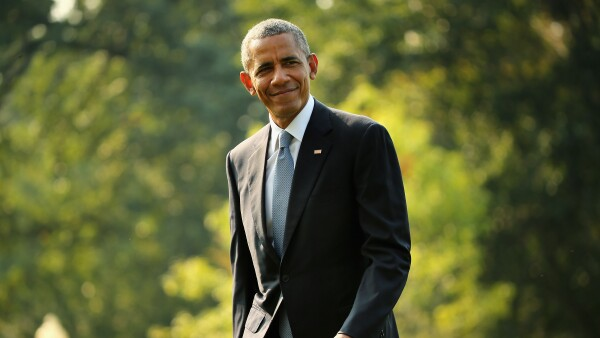 President Obama Returns To The White House