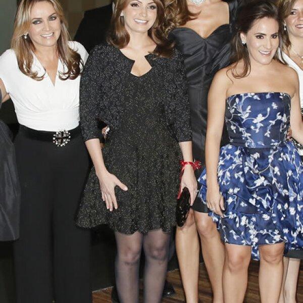 Rosaura Henkel,Angélica Rivera,Celia Daniel,Silvia Rojo