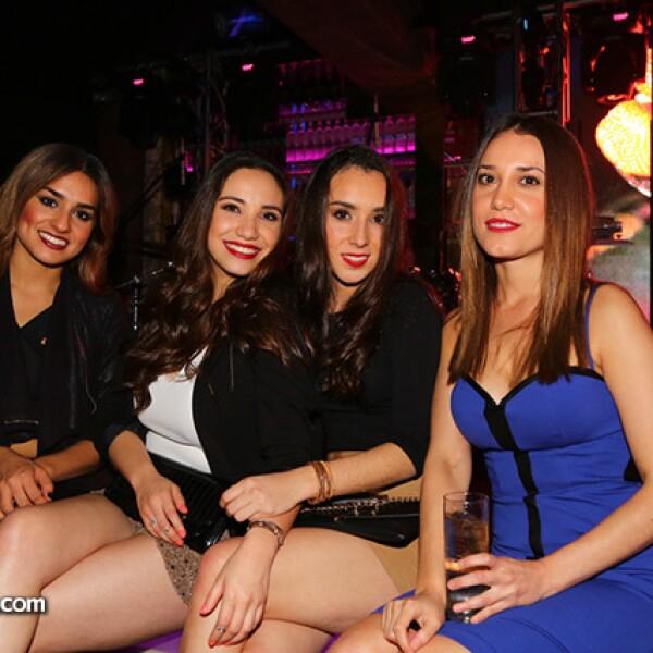 Tatiana Vega,Nhayalick Betancourt,Denisse Romero y Mariana Zaragoza