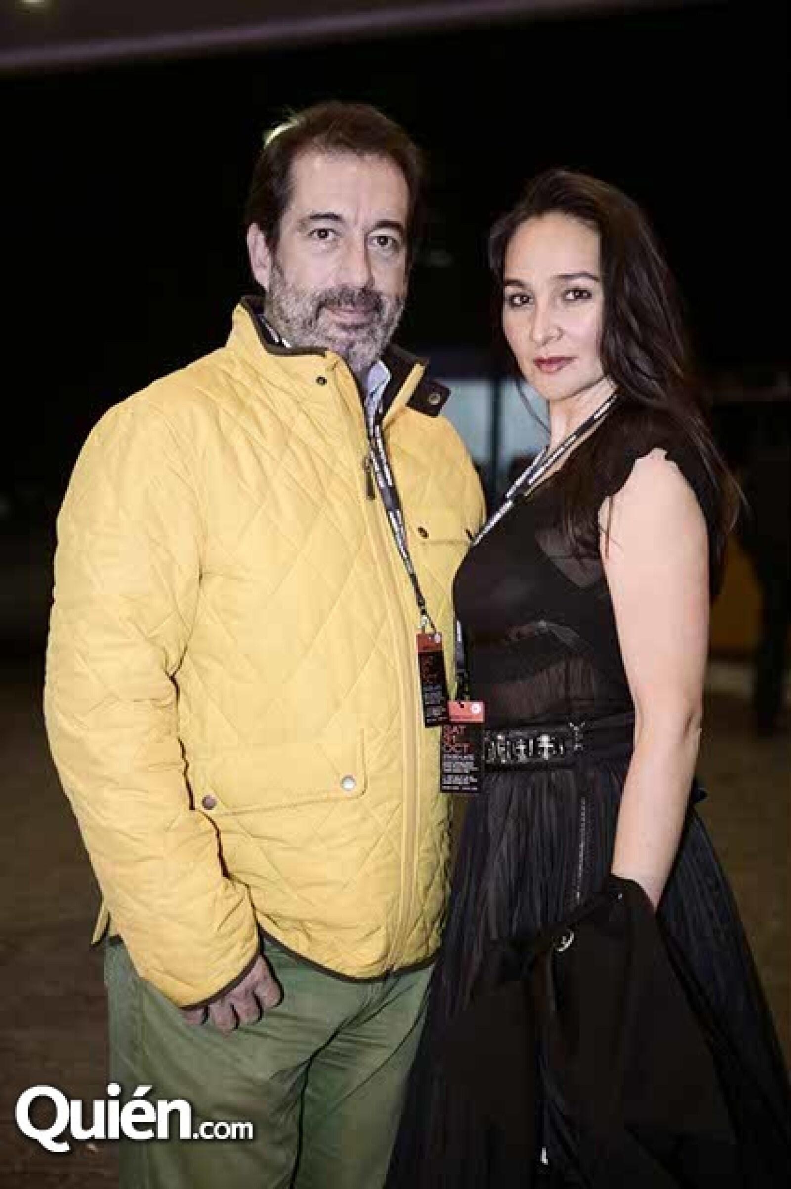 José Pablo Pérez y Delia Limón