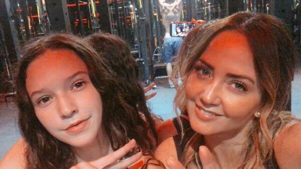 Mia Rubín y Andrea Legarreta