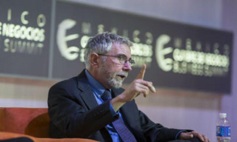 Krugman dijo que a diferencia de México, China y Brasil sí son razones de preocupación. (Foto: Jesús Almazán )