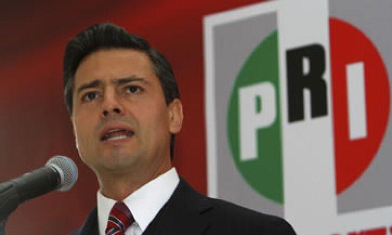 La XXI asamblea del partido concluye este domingo con la presencia del presidente Peña Nieto. (Foto: AP)