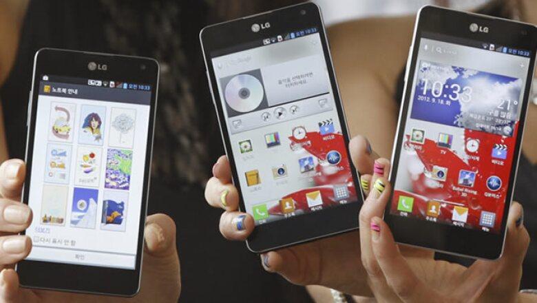 Los anteriores modelos del Optimus no pudieron dejar huella en el segmento de crecimiento más rápido del mercado de la telefonía móvil, el de los llamados 'smartphones'.