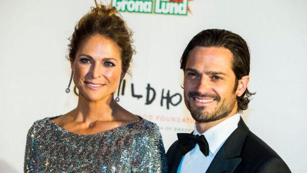princesa Magdalena y el príncipe Carlos Felipe
