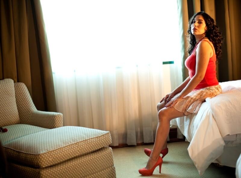 Tiaré Scanda interpreta a una empleada doméstica en la película Los Inadaptados, que este viernes llegará a los cines y en la cual participan también Paola Núñez, Luis Ernesto Franco y Luis Arrieta.