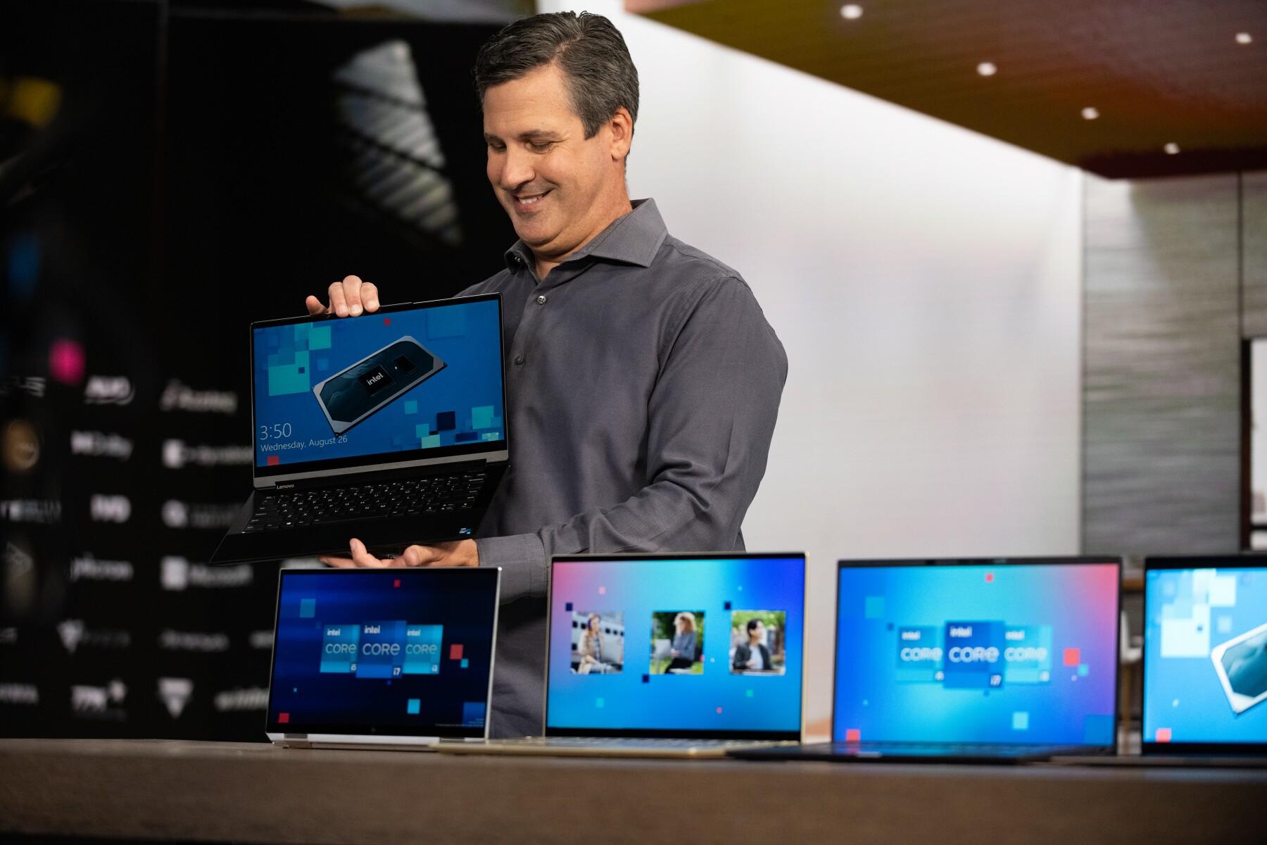 Intel presenta nuevos equipos con Tiger Lake.