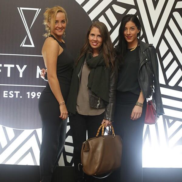 Claudia Reyes Heroles,Montserrat Ripoll y Lorena Murat