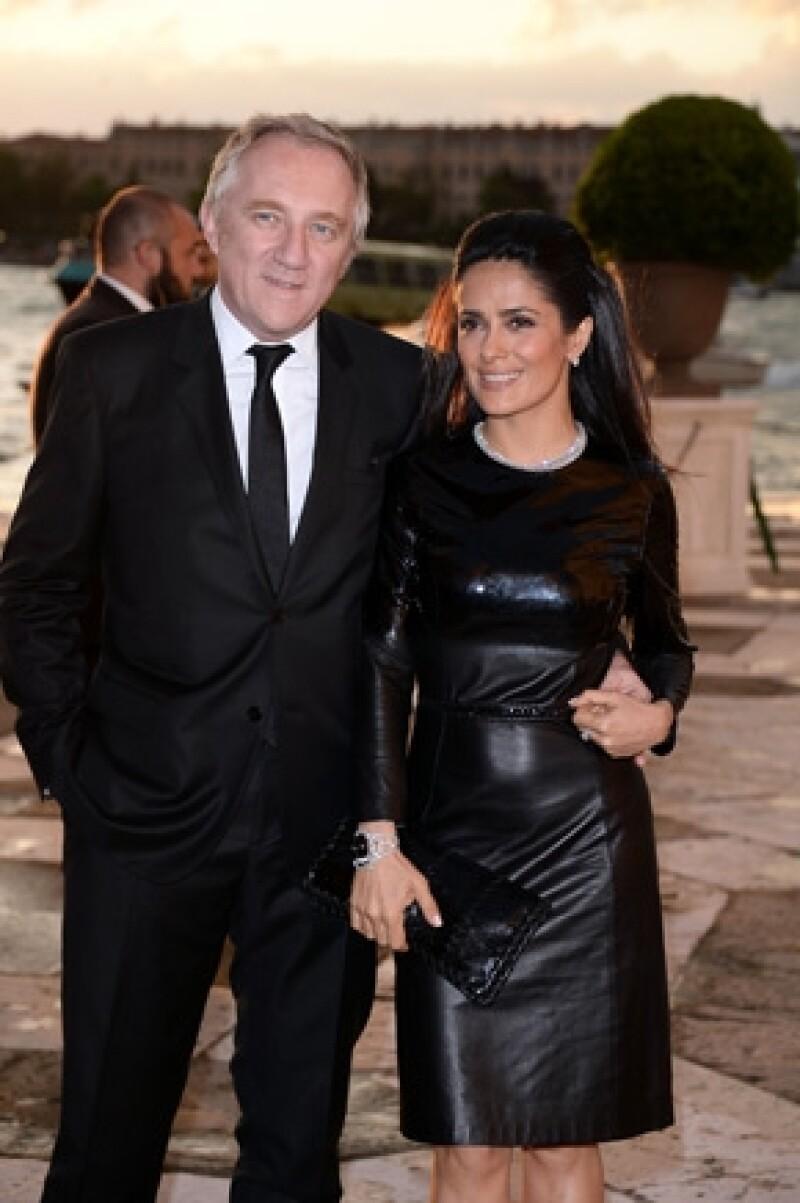 La actriz comentó en la revista InStyle que cuando compra ropa en lo único que piensa es en verse bien para Francois-Henri Pinault.