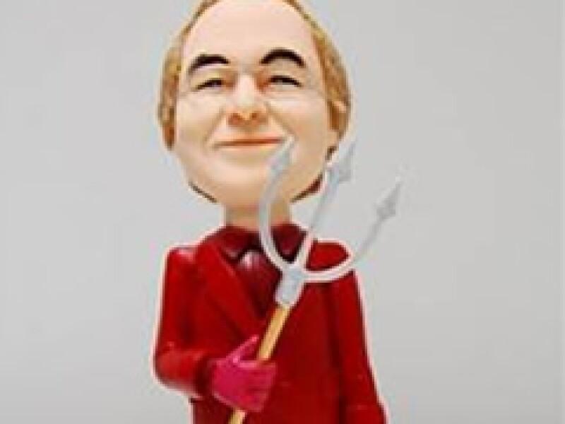 La empresa ModelWorks lanzó un muñeco con la figura de Bernard Madoff. (Foto: AP)