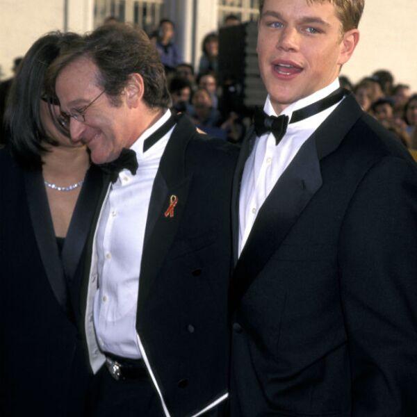 Un joven Matt Damon recibió las mejores enseñanzas del actor en 1998.