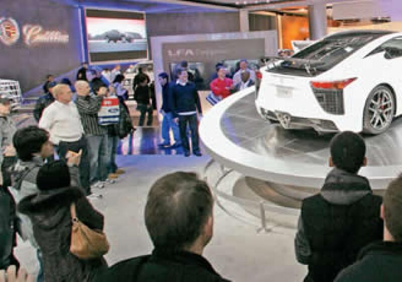 La exposición en Detroit es el evento más grande del sector automotor. (Foto: Especial)