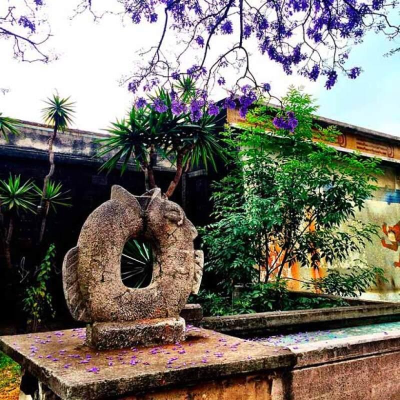 La cantante visitó algunos lugares de Chapultepec de los cuales varios de sus seguidores le preguntaron dónde eran.