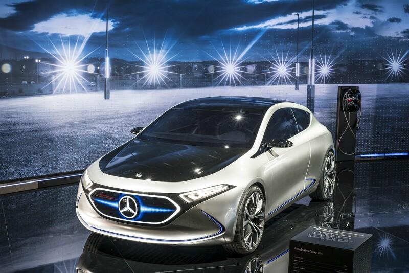 Mercedes-Benz EQC en Paris