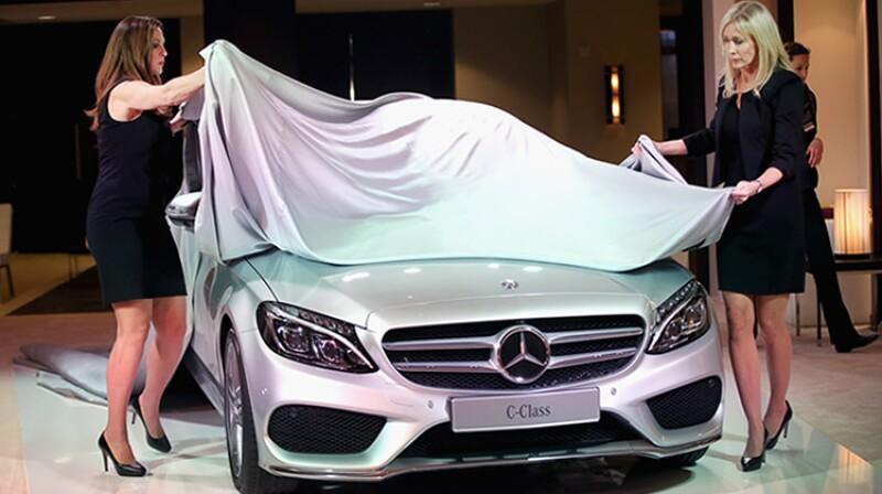 Mercedes Benz presenta su C-Class en el AutoShow 2014