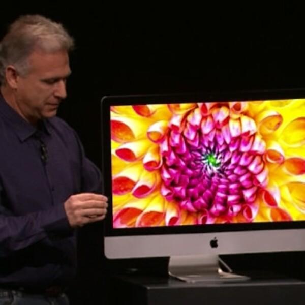 Phill Schiller nueva iMac 23 de octubre 2012