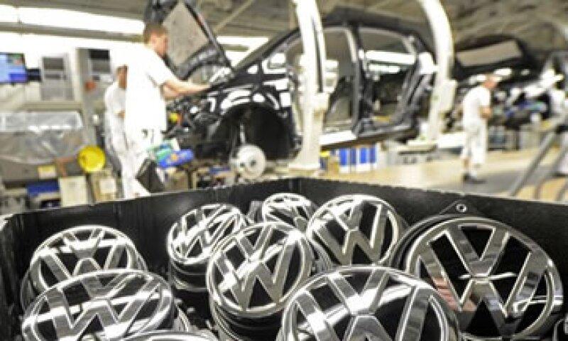 Volskwagen registró una caída de sus ventas de casi el 10%.  (Foto: Reuters)