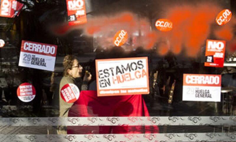 El octavo mes consecutivo de aumento del desempleo reafirmará la sensación de que el bloque está de nuevo en recesión. (Foto: AP)