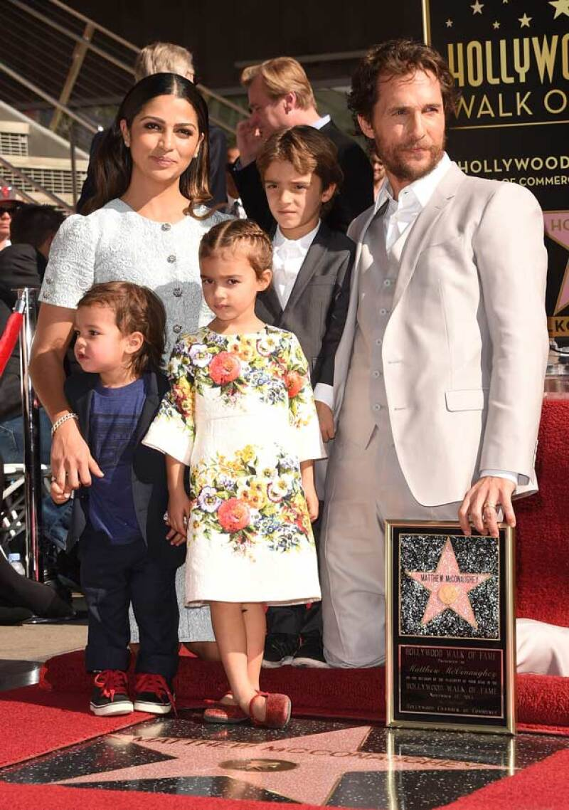 La última vez que vimos a los hijos del actor hollywoodense fue en noviembre del año pasado. Siendo esta la segunda ocasión en la que aparecían todos juntos frente a las cámaras.