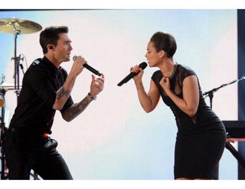 Su dueto con la cantante Alicia Keys es sólo uno de los tantos que nos ha dejado sin aliento