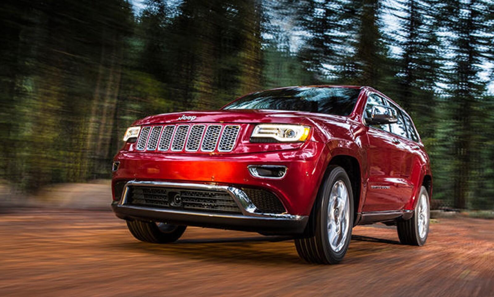 Chrysler examina una falla en el sistema de frenado de la Jeep Grand Cherokee 2014.