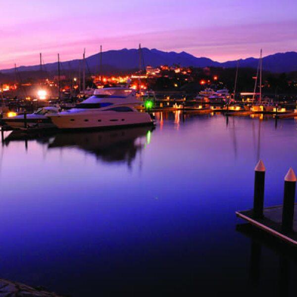 Varios destinos de la Riviera Nayarit tienen su marina.