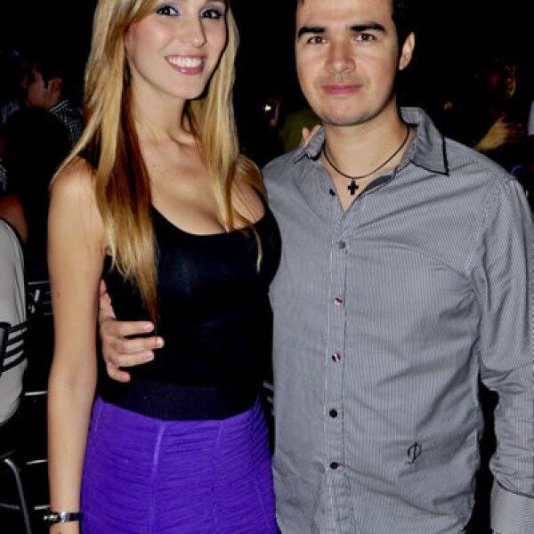 Andrea Vidal de Flores y Fabricio Flores