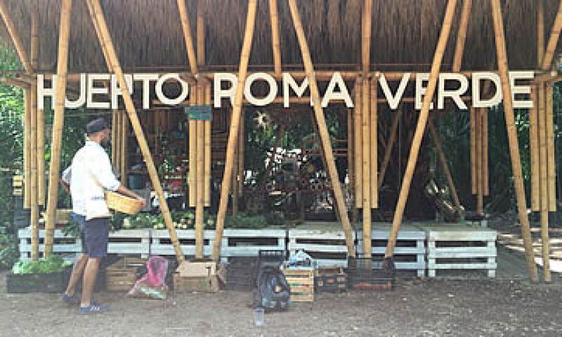 En el Huerto Roma Verde se puede comprar alimentos orgánicos, que los voluntarios producen ahí mismo. (Foto: Carmen Murillo )