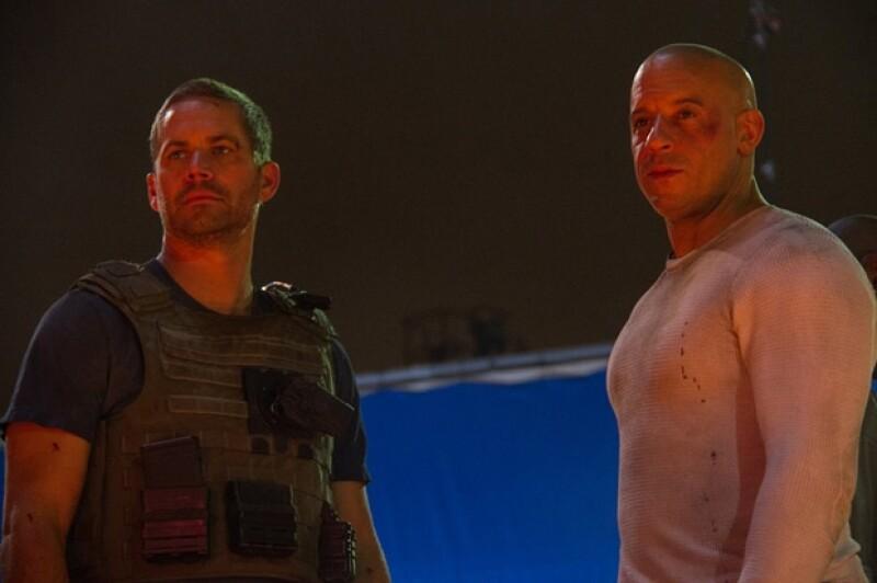 Vin Diesel compartió a través de su página de Facebook una foto de la última escena con su compañero ya fallecido y anunció que será hasta 2015 cuando la cinta se vea en las salas de cine.