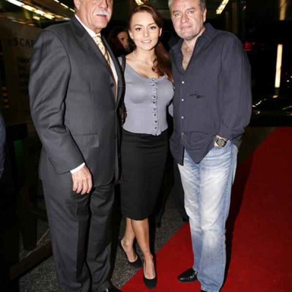 Rafael Herrerías, Angelique Boyer y José Alberto Castro
