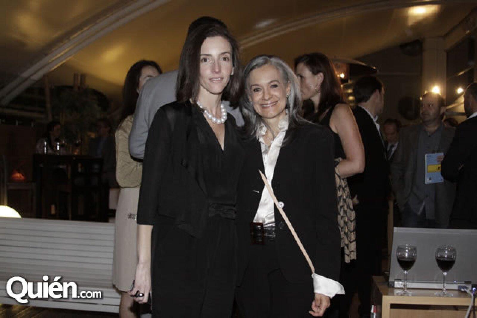 Úrsula Mendoza y Alicia Martínez