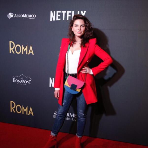 Estefanía Hinojosa, actriz.