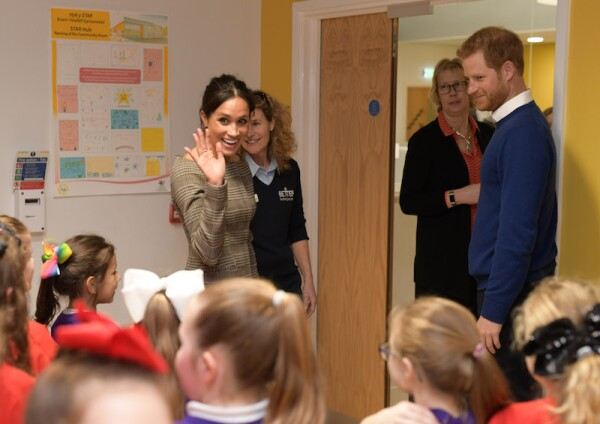 Prince Harry and Meghan Markle visit Cardiff, Wales, UK - 18 Jan 2018