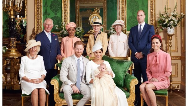 Bautizo de Archie Harrison Mountbatten-Windsor